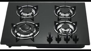 BRAND NEW 4 BURNER GLASS TOP GAS STOVE COOKTOP USE WITH LPG GAS Blacktown Blacktown Area Preview