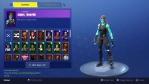 SELLING SUPER STACKED SKULL+GHOUL TROOPER ACCOUNT