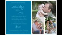 Daddy and Me mini sessions- $80