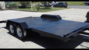 New car trailer dual axle 2000kg - Ramps Gladstone Gladstone City Preview