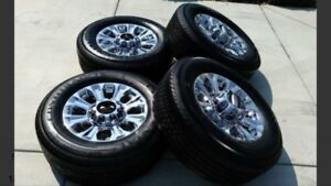 Ford superduty wheels - complete ! New !