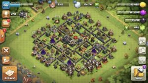 Clash of clans maxed th9