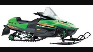 Wanted arctic cat zr with blown motor.