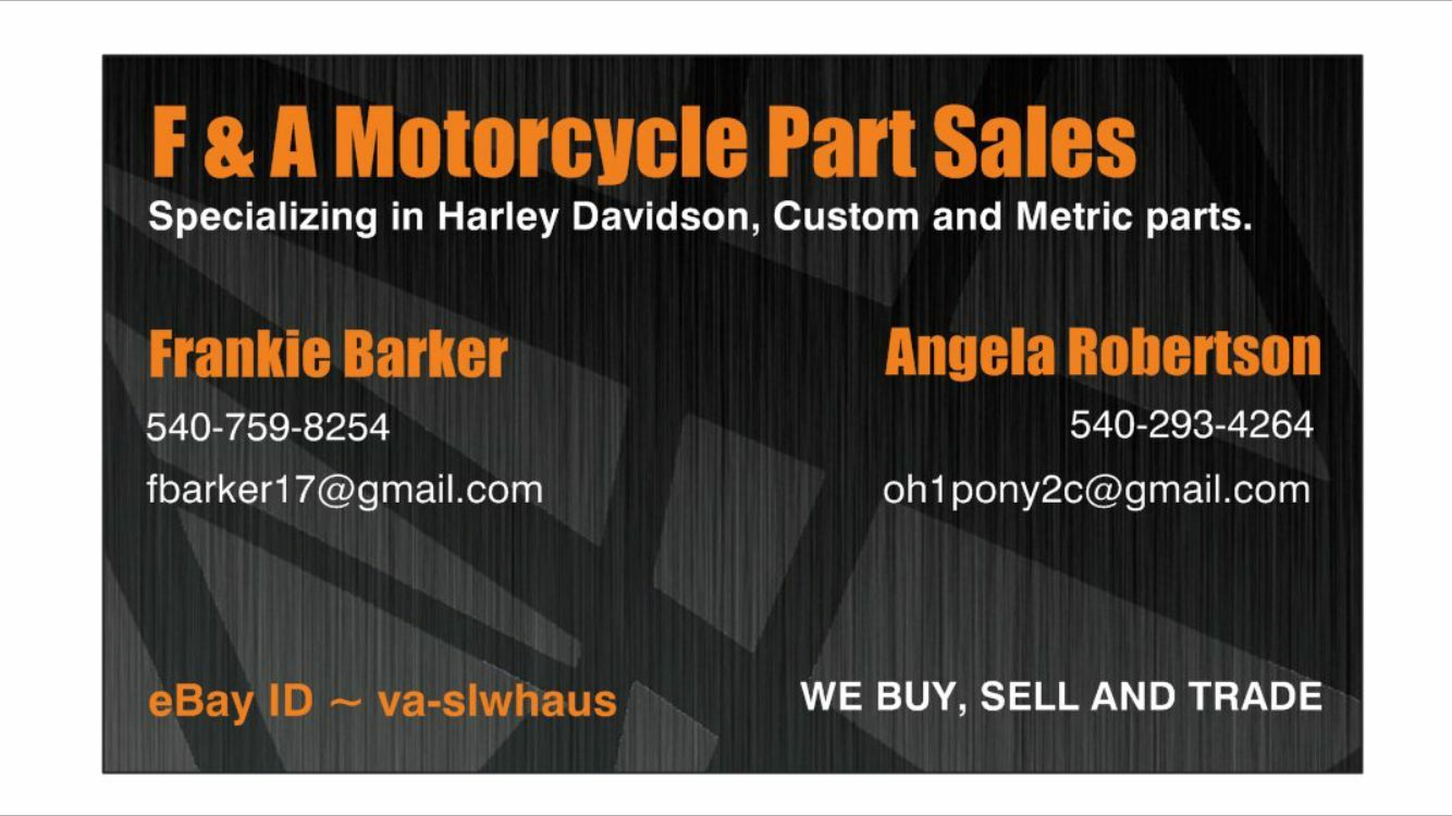 F and A Motorcycle Part Sales