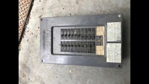 Square D electrical panel