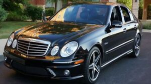 Mercedes benz e63 amg 520hp!!! 2007