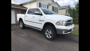 Lifted 2014 Dodge Ram 1500 big horn