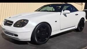 1997 Mercedes-Benz SLK200 Convertible Mount Pritchard Fairfield Area Preview