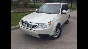 2011 Subaru Forester 2.5 AWD Accident Free SUV