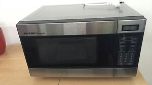 SHARP Carousel Microwave Oven R-290N(S) Highton Geelong City Preview