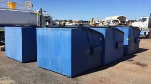 6 X ACT Industrial Blue Front Load Bins 4.5m^3  Sale Now  ,Perth North Albury Albury Area Preview