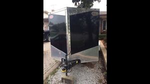 Enclosed Trailer 7x16 Double Axel