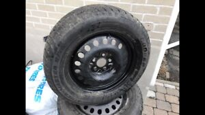 225/60-17 GMC Terrain winter tire and wheels package