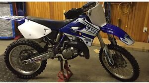 2000 yz 125 clean title no ownership