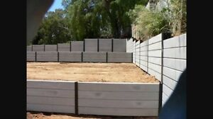 Retaining walls and fencing Seaford Meadows Morphett Vale Area Preview