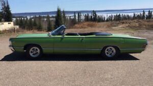 RARE 1968 FORD METEOR MONTCALM CONVERTIBLE S33