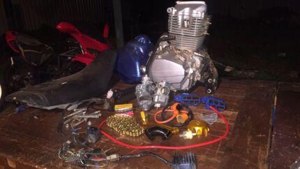 200cc motor & parts