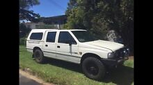 1995 Holden Rodeo Dualcab with Canopy- Unregistered Kallangur Pine Rivers Area Preview