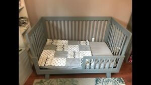 West coast kids grey crib