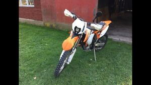 2013 KTM 350 exc-f with lots of upgrades!