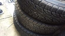 4 Toyota Land Cruiser wheels&tyres Greenvale Hume Area Preview