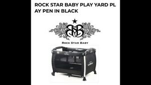 Rock Star Baby Pack and Play Play Pen