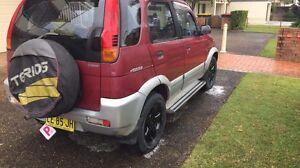 1999 Daihatsu Terios Wagon Nelson Bay Port Stephens Area Preview