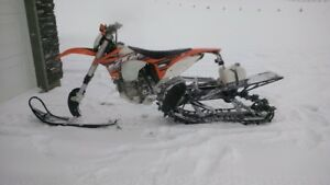 2013 KTM 500 EXC with Timbersled Kit