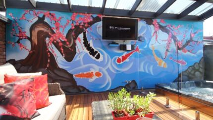damien arena graffiti artist melbourne other business