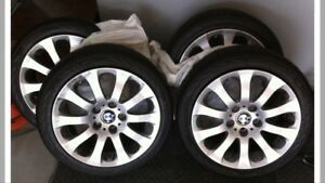 Bmw 5/120 17inch wheels