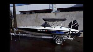 16 Ft Ski boat