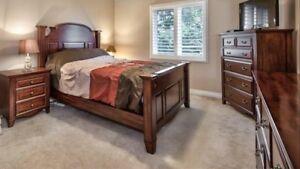 High End 5-piece Queen Bedroom Set