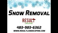 Snow Removal Services in South Calgary FREE NOVEMBER