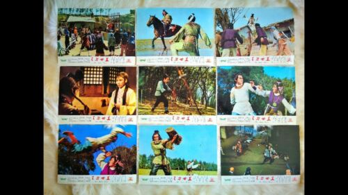 THE MASTER SWORD 1969  Poster and 9 Lobby Cards plus Synopsis
