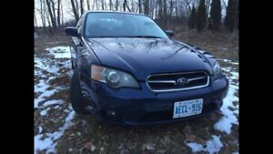Parting out 2005 Subaru Legacy Body Parts