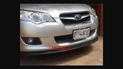STI front lip spoiler from Ultrex Subaru liberty gt 03 - 09