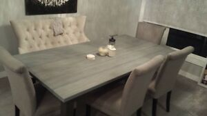 Rustic Harvest Dining Table for Sale