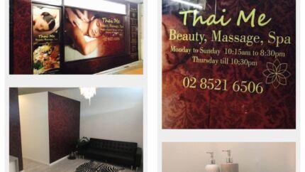 Thai massage shop for sale
