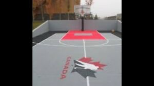 Basketball Court Installation / Basketball Hamilton