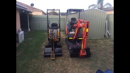 For sale  complete EXCAVATION machines for a business