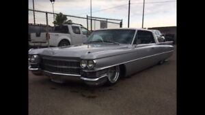 1963 Cadillac coupe Deville on airride