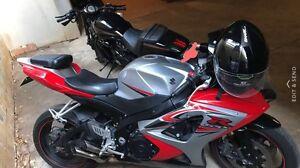 RED 2007 GSXR 1000 Suzuki Lidcombe Auburn Area Preview