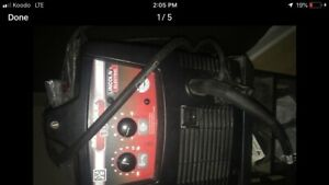 Mig welder Gas or Flux As new condition Lincoln 180