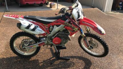 2011 CRF450R FUEL INJECTED
