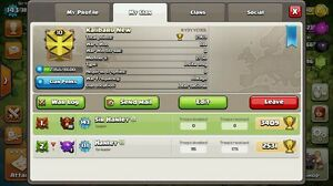 Lv10 Clan in Clash of Clans London Ontario image 1