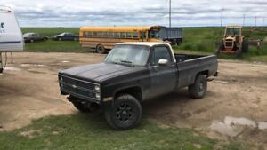 '81 Chevy k10 part out