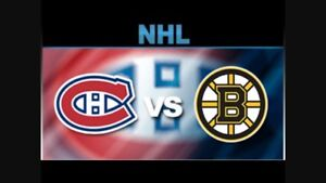 Looking for Montreal vs Boston tickets.