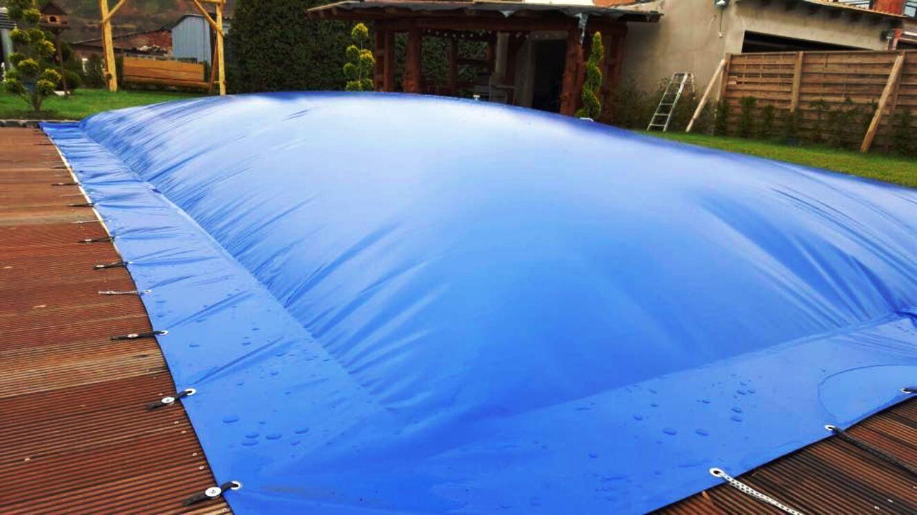 aufblasbare poolabdeckung poolplane rund 1300 g m individuelle fertigung eur 199 00. Black Bedroom Furniture Sets. Home Design Ideas