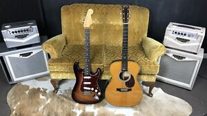 John Mayer OM-28 Limited Edition Martin & Signature Stratocaster Wallsend Newcastle Area Preview