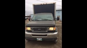 Ford E 550 cube delivery truck diesel